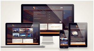 Hình ảnh website responsive tương thích với mọi thiết bị